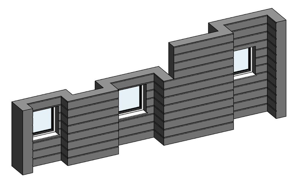 Solved: Help to create the wall for this facade - Autodesk