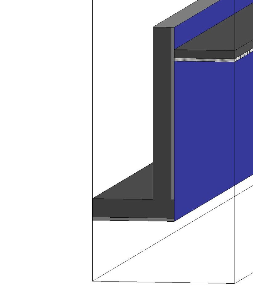 Wrap Finish Layers At Wall / Ceiling Soffit Joins