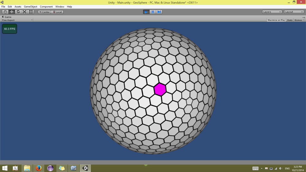 What is the best way to create a spherical hex map