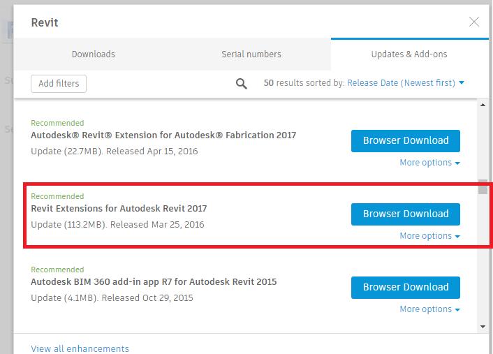 Solved: Revit Extensions for 2017 version? - Autodesk Community