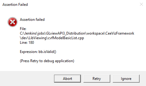 Assertion Failed - Rendering - Autodesk Community- CFD