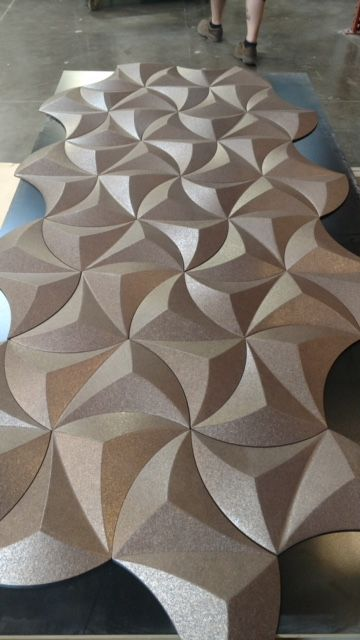 All vertical illusion tiles were designed and machined using artcam all vertical illusion tiles were designed and machined using artcam 2009 ppazfo