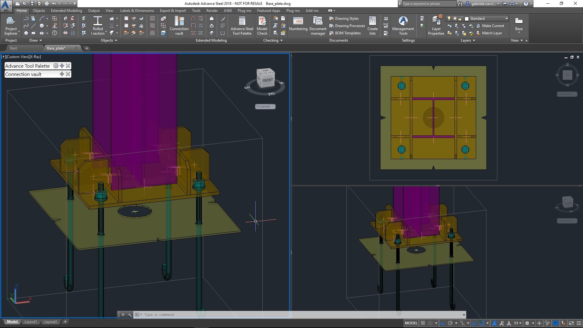 Anchor Bolts Macro / Base plate macro Improvements
