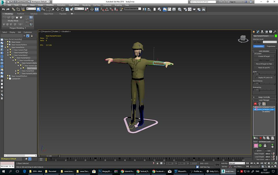 Solved: Export couple of animations from CAT Rig to Unity