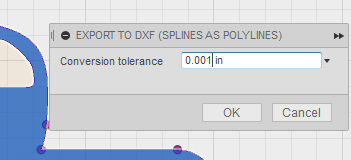Trouble exporting DXF from Sketch, missing lines and curves