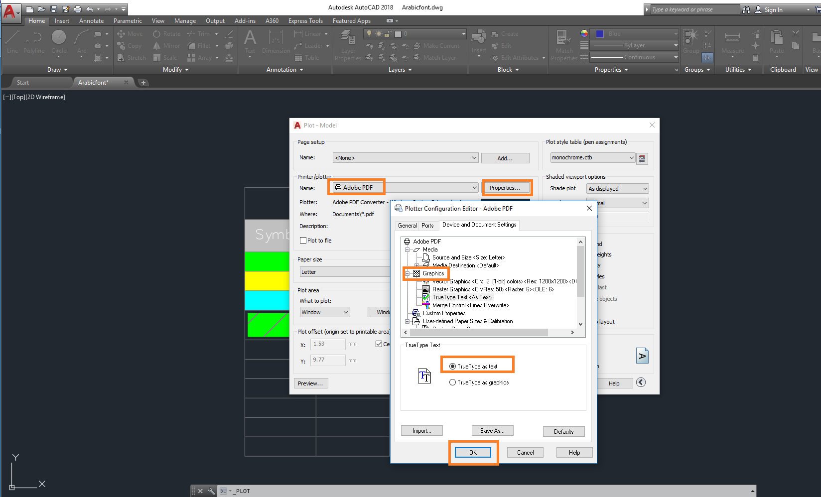 how to change font on autocad