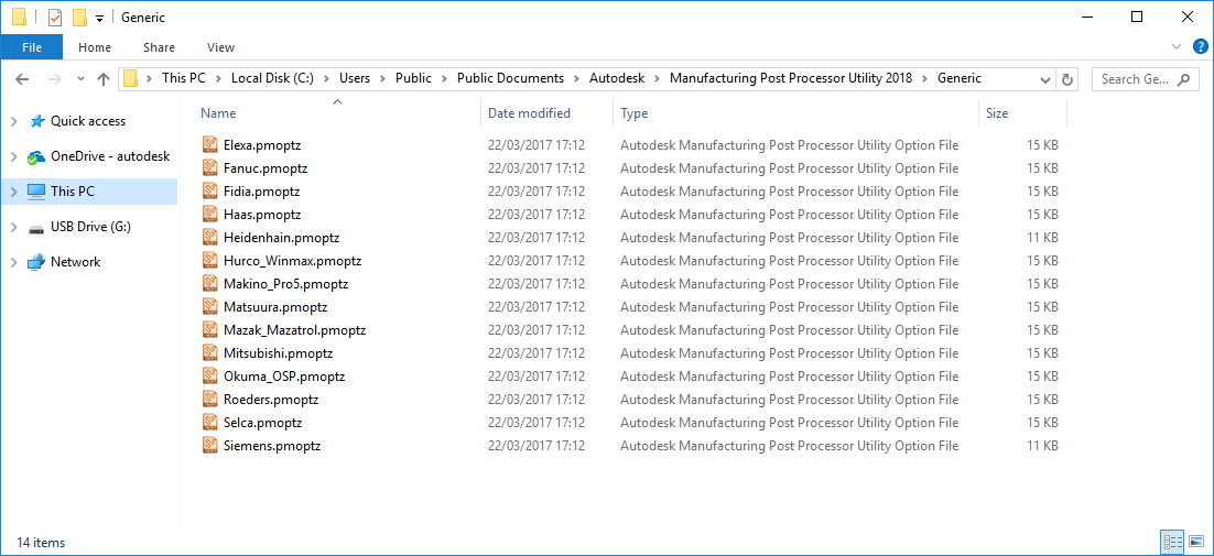 Solved: no 2017 post processor files with 2018 - Autodesk