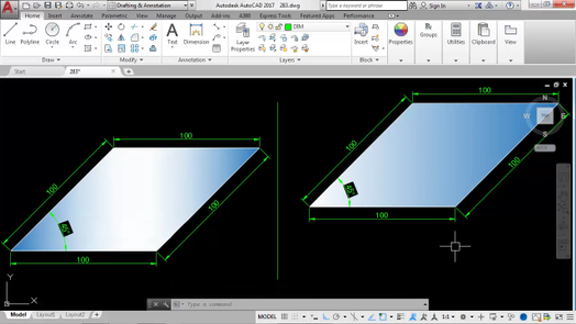 Drawing Lines With Angles In Autocad : Solved how to draw a line by specifying angle autodesk