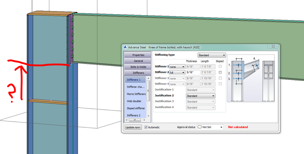 Solved: move stiffener - Autodesk Community- Advance Steel