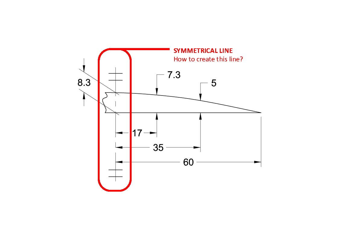 How to make symmetrical line available from the linetype how to make symmetrical line available from the linetype autodesk community buycottarizona