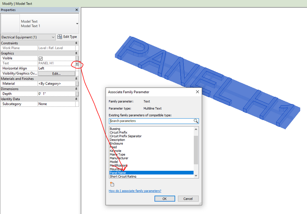 MODEL TEXT AS A FAMILY - Autodesk Community- Revit Products