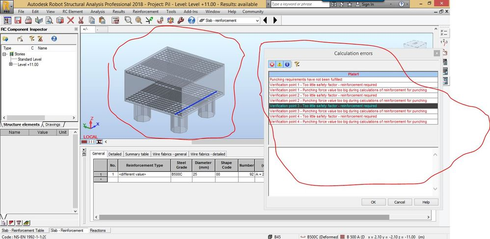 Solved: Design of Pile cap - Autodesk Community- Robot