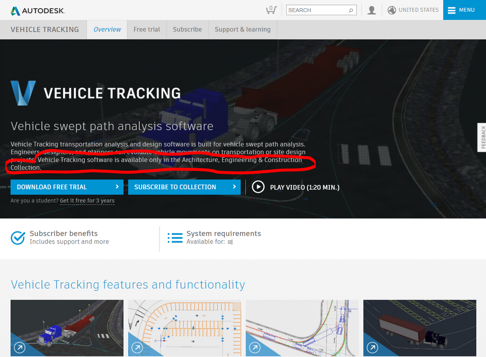 New Autodesk Vehicle Tracking 2018 Software