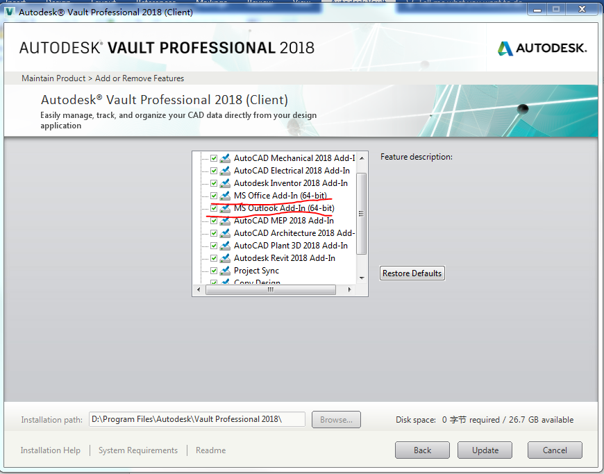 Solved: Vault 2017: Microsoft Office 2016 Add-in - Autodesk