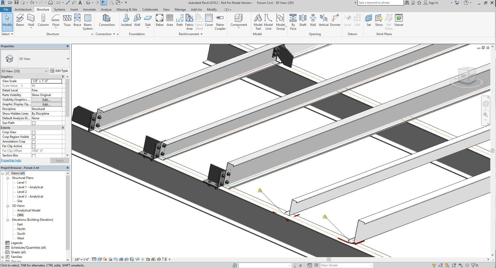 Beam Connection Family Revit - New Images Beam