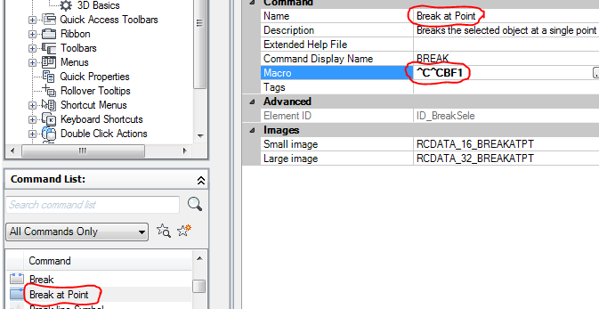 Solved: Break at Point - Autodesk Community- AutoCAD