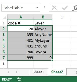 Solved: Import point number and xyz data from excel and