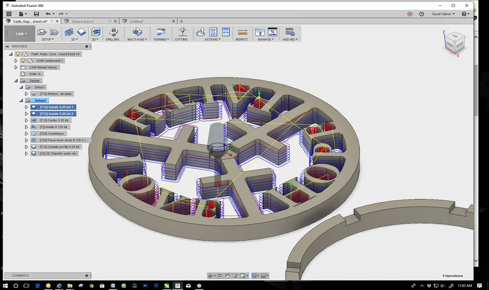 Solved: Vertical cuts not straight - Autodesk Community- Fusion 360