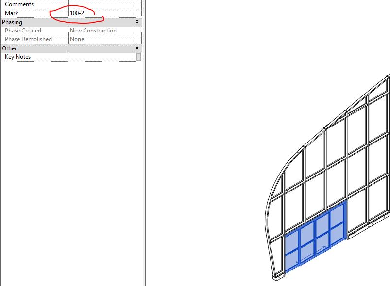 Revit curtain wall window schedule pdf