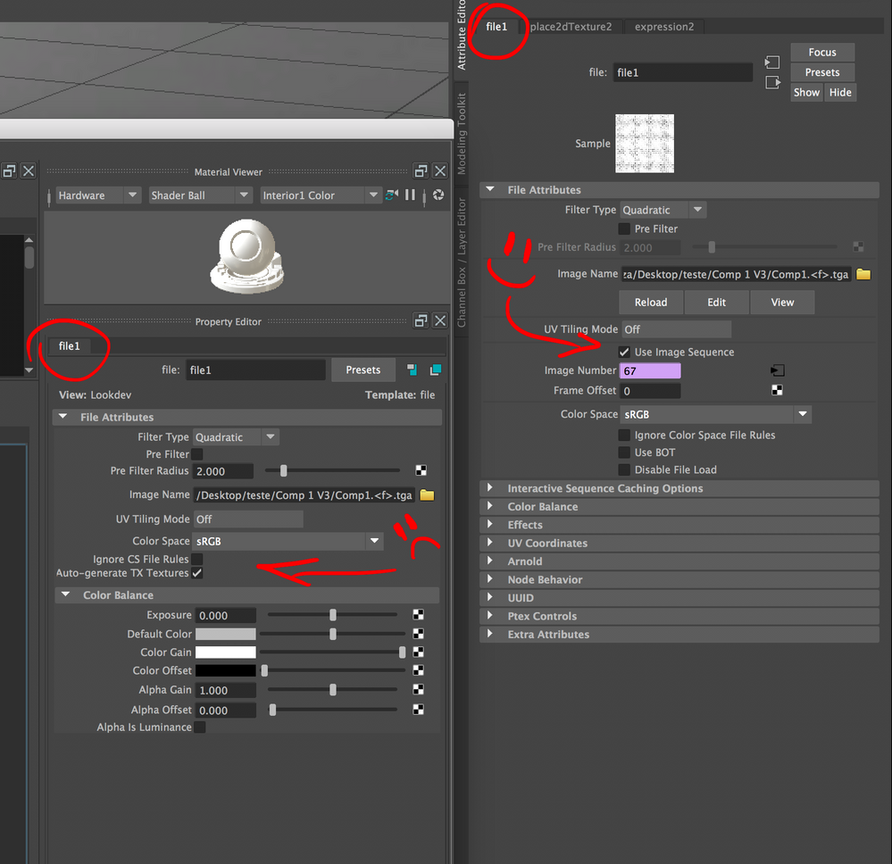 Solved: Arnold 5 0 2 image sequence texture - Autodesk