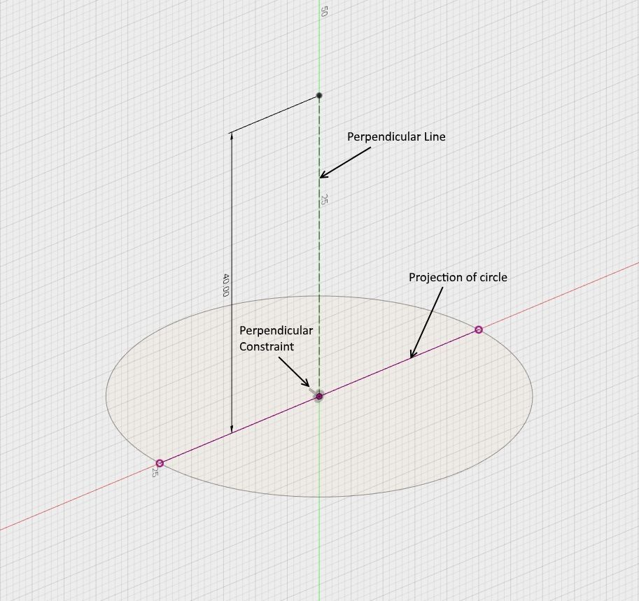 Solved: Spline perpendicular to face or plane? - Autodesk