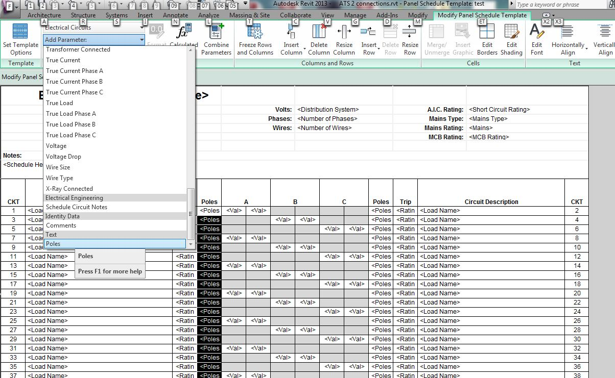 43654i4B389F1AB5D9A016?v=1.0 revit mep 2013 is it possible to undock panel schedules  at edmiracle.co