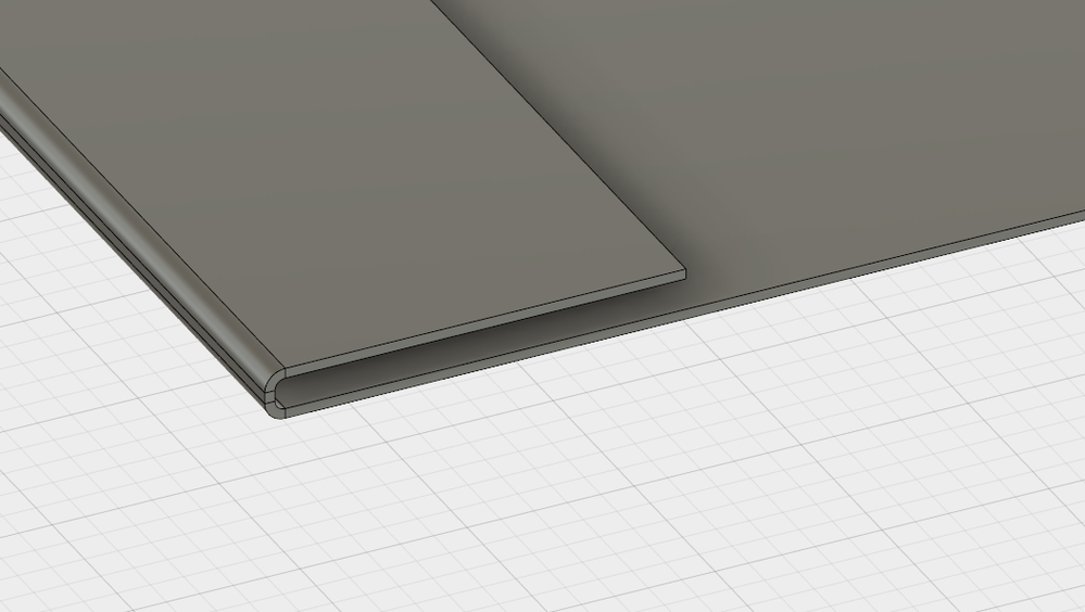 Sheet metal 180 degrees bend flange - Autodesk Community