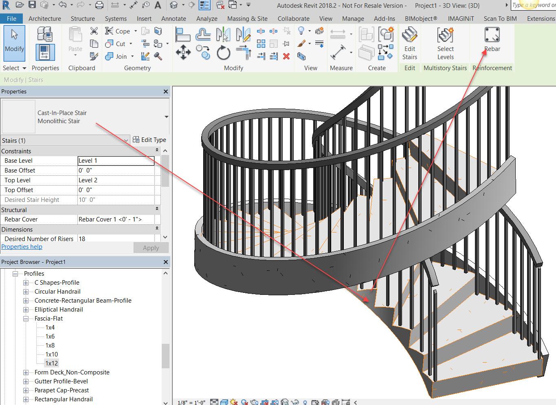 Concrete Spiral Staircase Reinforcement Details - Photos