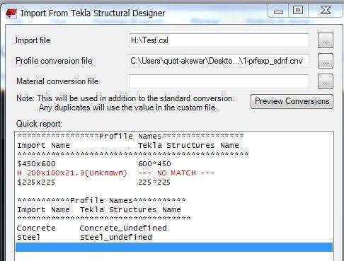 Tekla to Revit import - Autodesk Community- Revit Cloud