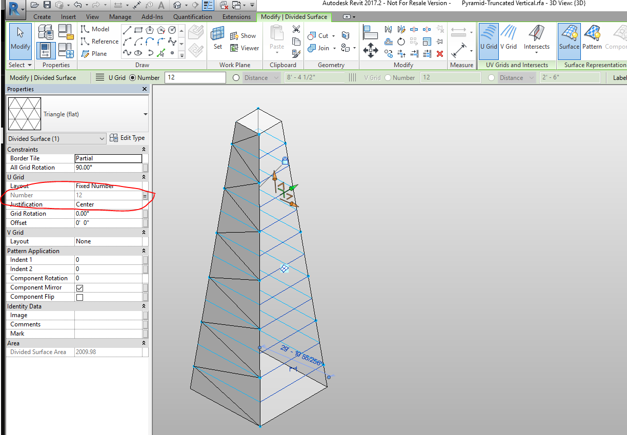 how to change dimensions size revit