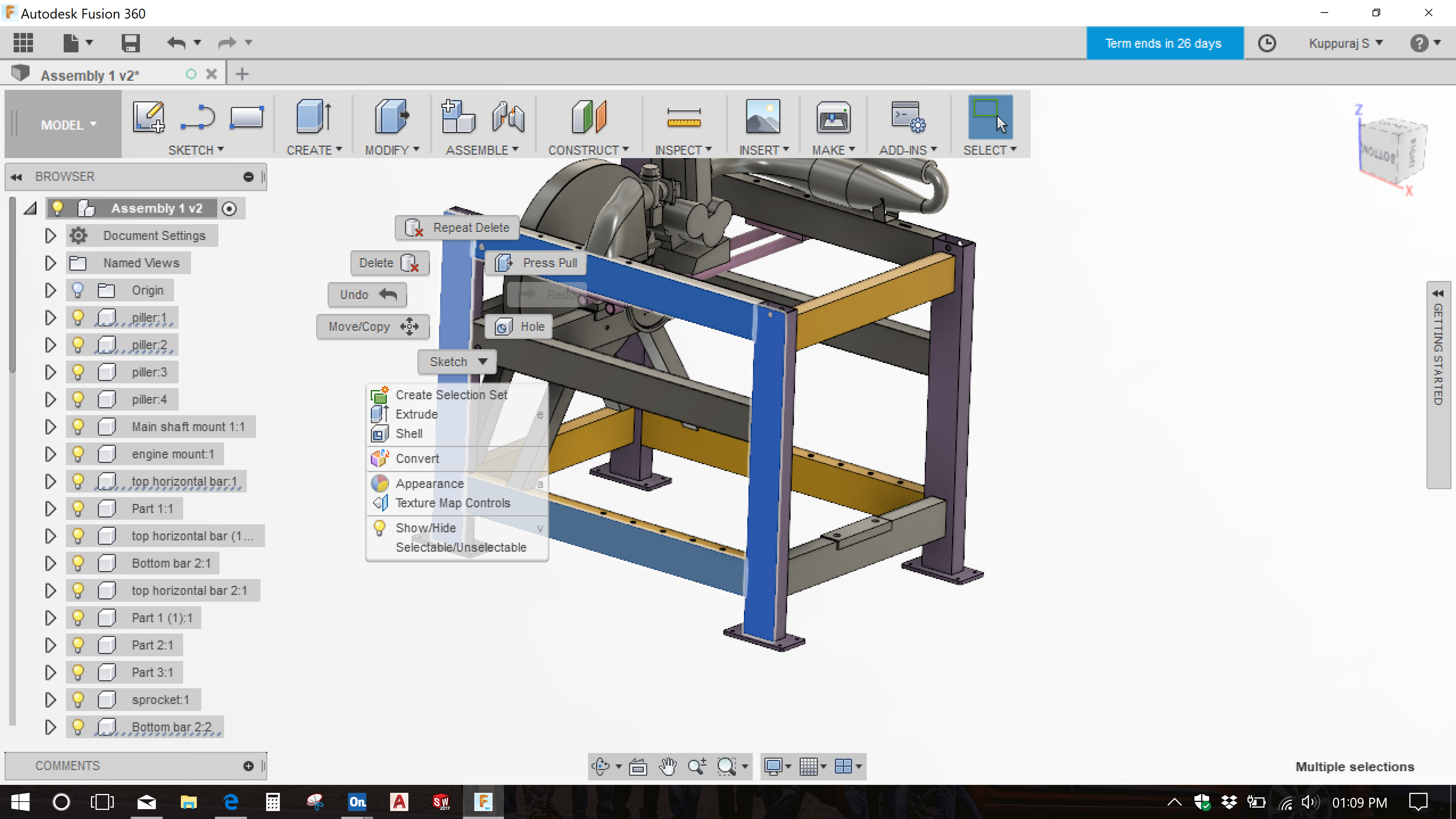 Solved: I want to change all my designs from Onshape to