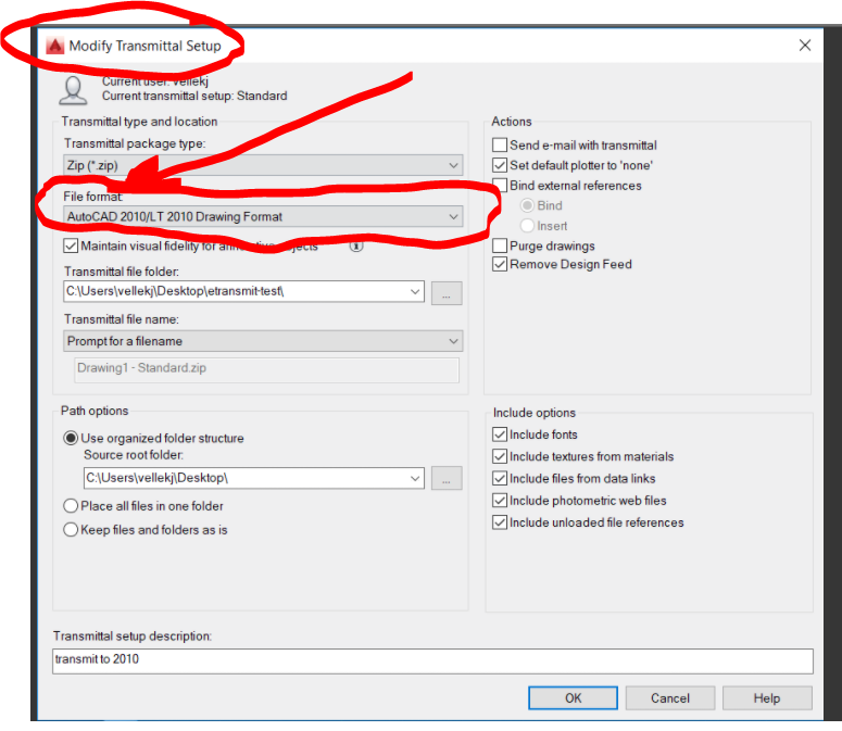 Solved: Etransmit with a lower version - Autodesk Community- AutoCAD