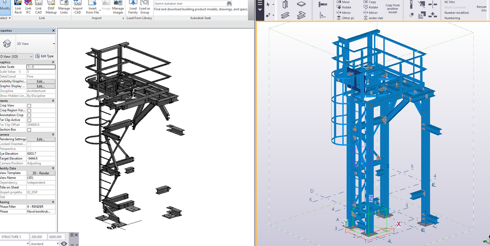 Solved: Columns missing after IFC imported from Tekla - Autodesk