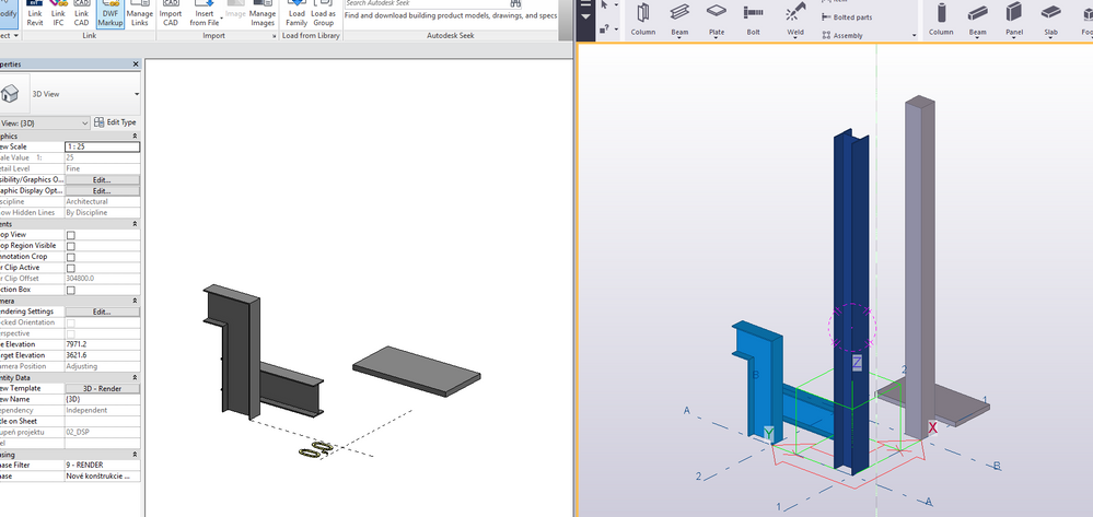 Solved: Columns missing after IFC imported from Tekla