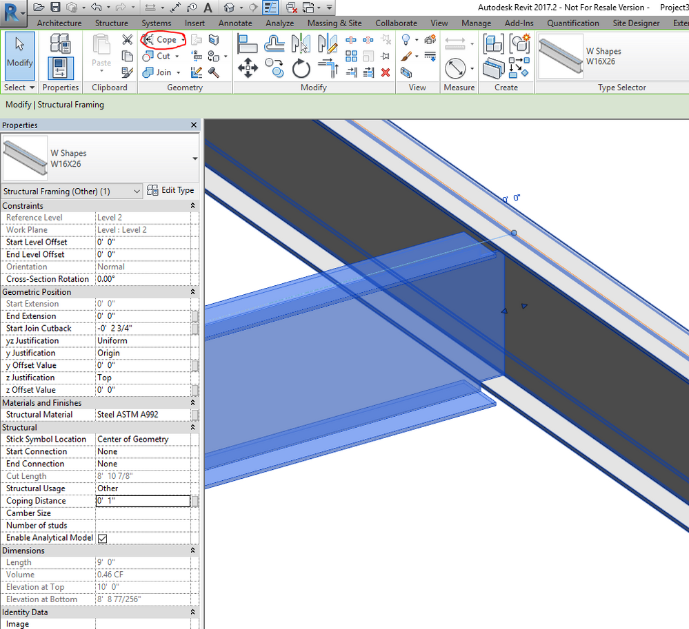 Solved: Beam coping Detail Component - Autodesk Community