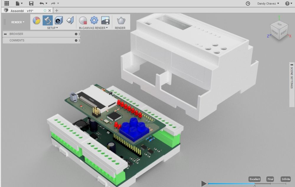 Solved: Easy and fast 3D library editor in Autodesk Eagle - Autodesk ...