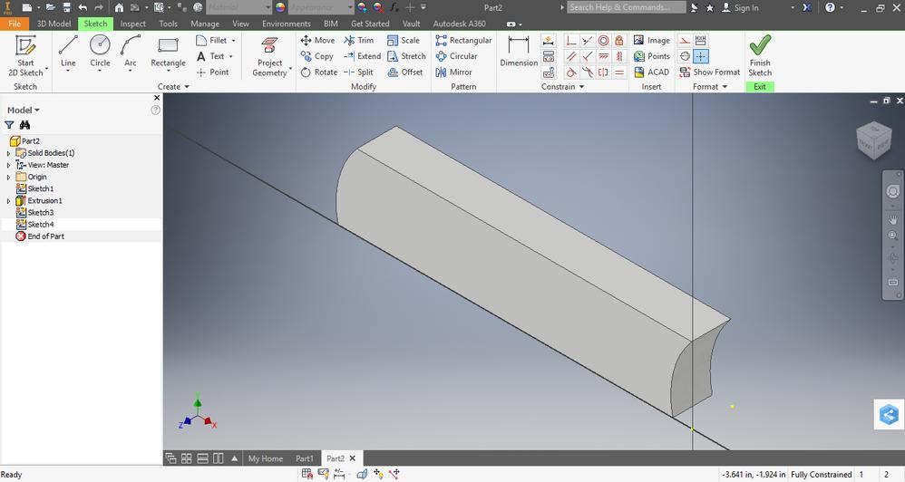 Inventor Turbine Curve/Bend Blade Inwards - Autodesk
