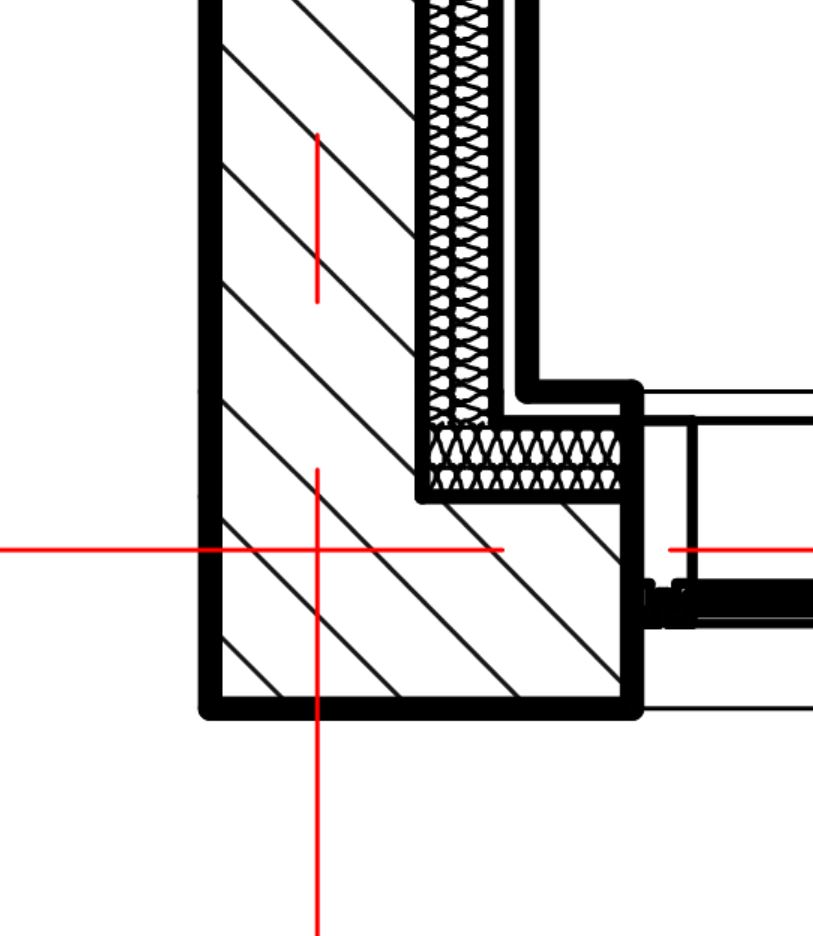 how do you change line weights of different wall layers