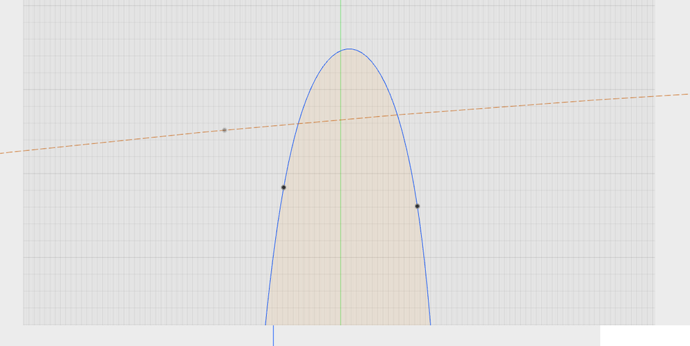 Solved: Intersecting sketch curve with curve from other