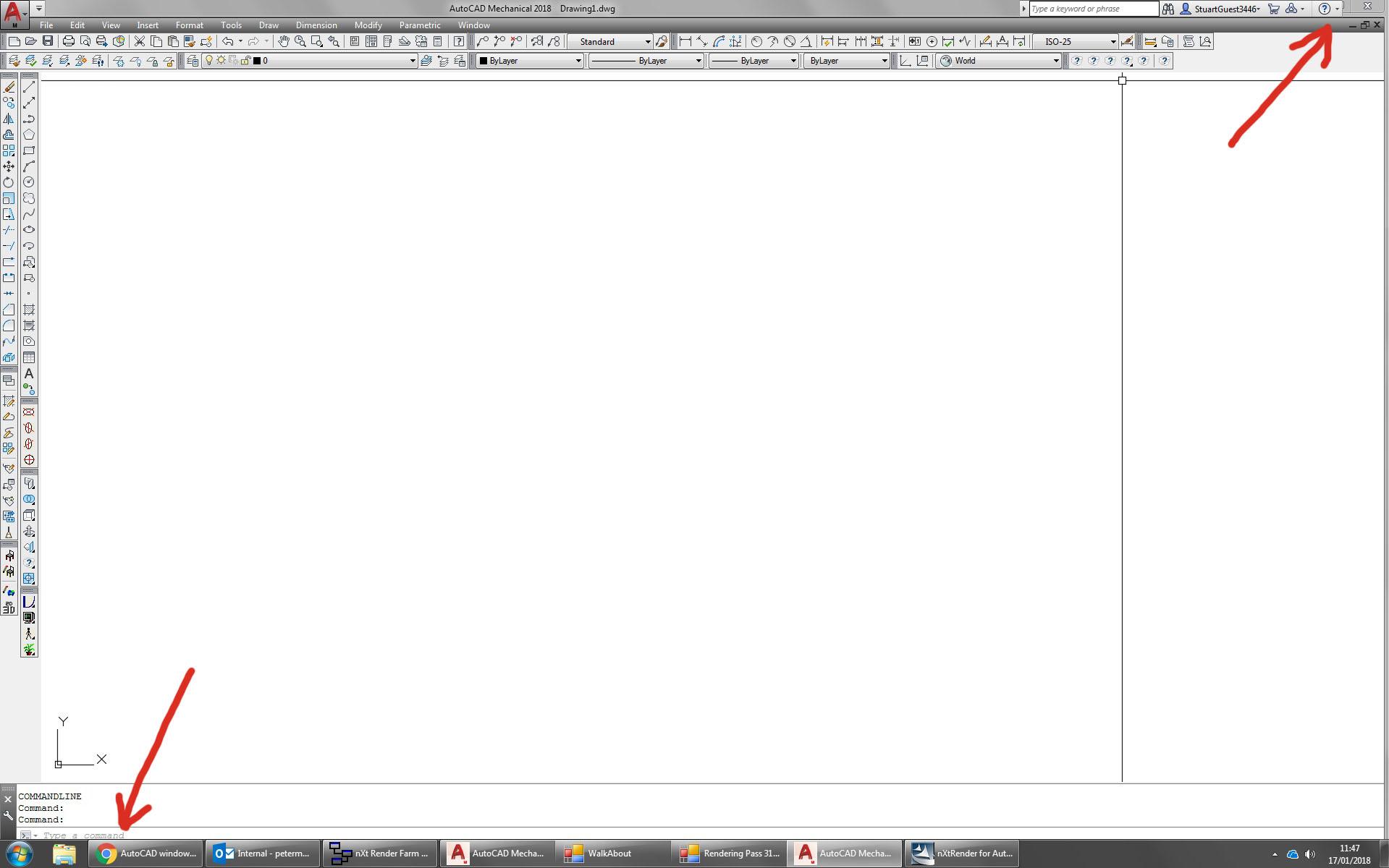 Solved: AutoCAD window not opening completely maximized - Autodesk
