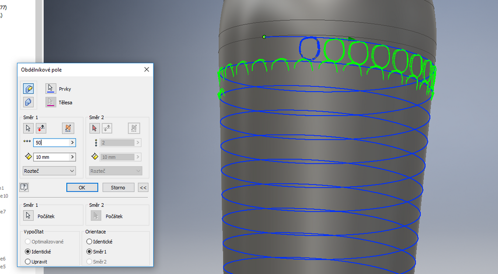 Solved: How to create fish scale checkering in Inventor