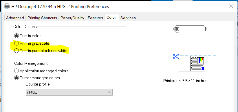 Printing layer colors in gray - Autodesk Community- AutoCAD