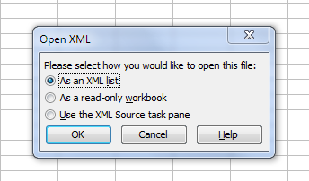 Opening Reference Repair Utility  xml file in Excel - Autodesk