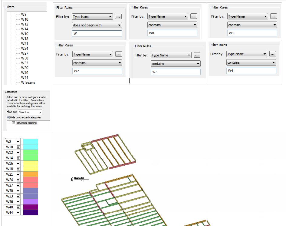 Beam (Structural Framing) Color Legend - Autodesk Community