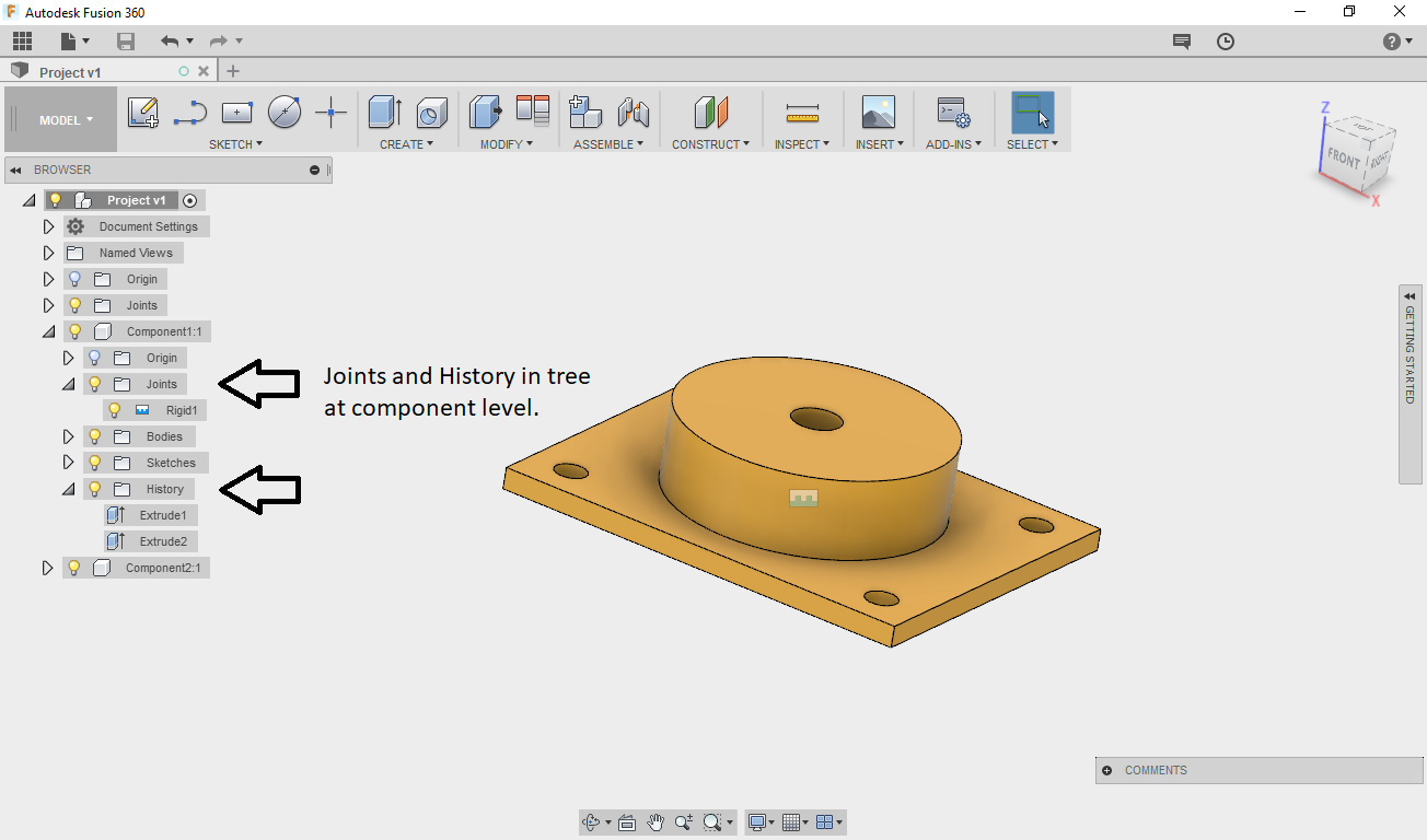 Construction History / Design Tree - Autodesk Community