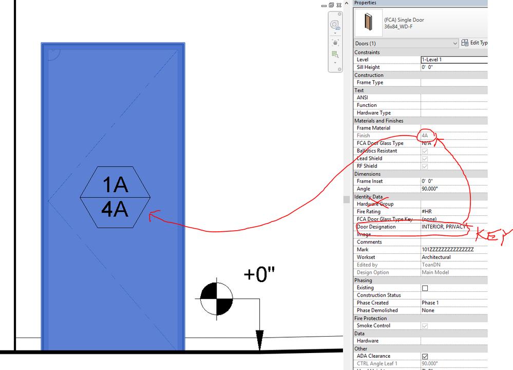 how to create door frame in revit