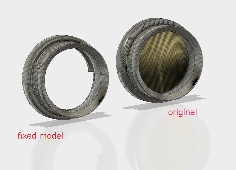 Solved: Fusion 360 STL wrongly closes an open-top box - Autodesk