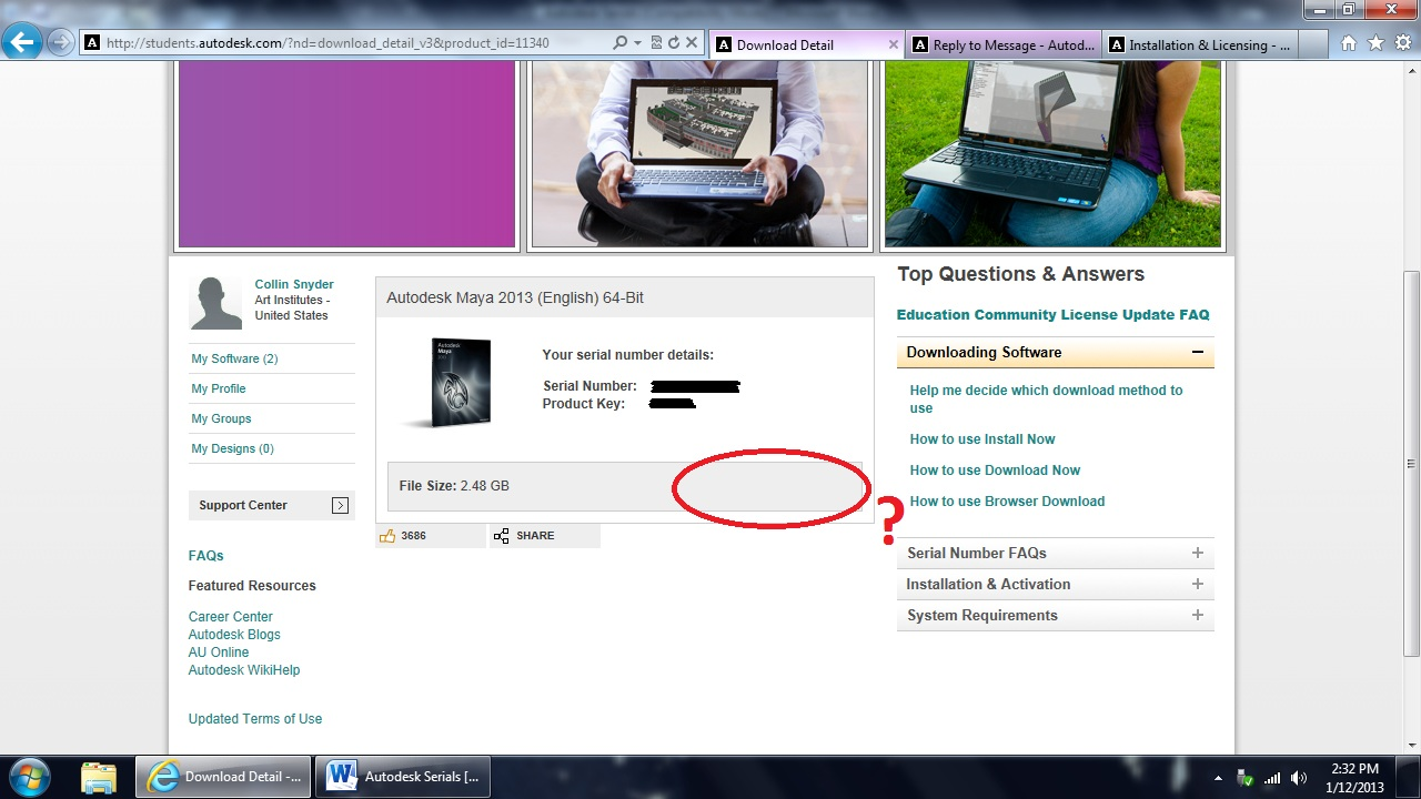 autodesk student download