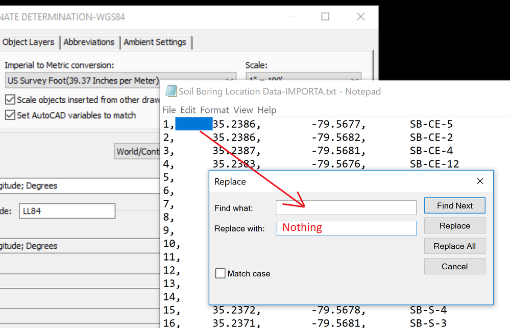 Solved: C3D - Importing Points to WGS84 CRS - Autodesk