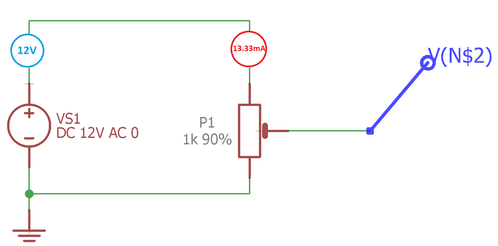 Solved: Eagle 8.5.2 Potentiometer Simulation Does Not Work ... on